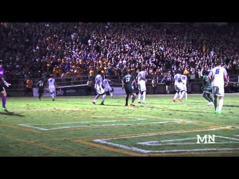 Men's Soccer Defeats No.13 UC Santa Barbara In Double Overtime