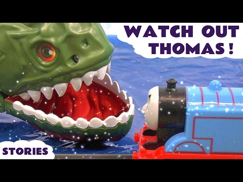 Thomas & Friends Toy Trains Watch Out Thomas Surprise Eggs and Play Doh Episodes ToyTrains4u