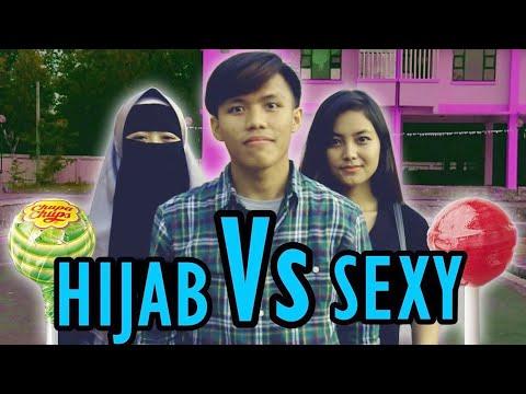 Cewek Sexy Vs Cewek Hijab - Social Experiment - Lihat Apa yg Di Lakukan
