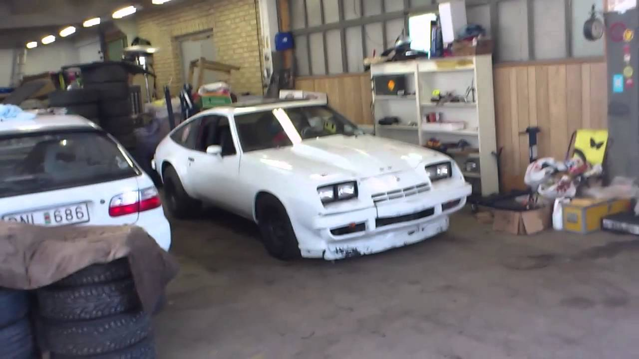 All Chevy 1977 chevrolet monza : Startup V8 Chevy monza - YouTube
