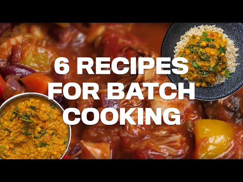 Delicious VEGAN BATCH COOKING Recipes!