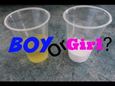 BAKING SODA GENDER TEST!