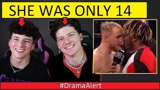 BOTH Lopez brothers CAUGHT in 4k! (SHE was 14) #DramaAlert  JAKE PAUL vs KSI!