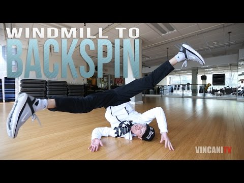 Learn How To Windmill To Backspin | Dr. Moose (Waikiki Breakers) | Intermediate Breaking