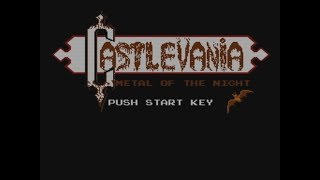 NES Castlevania: Metal of the Night (Hack)