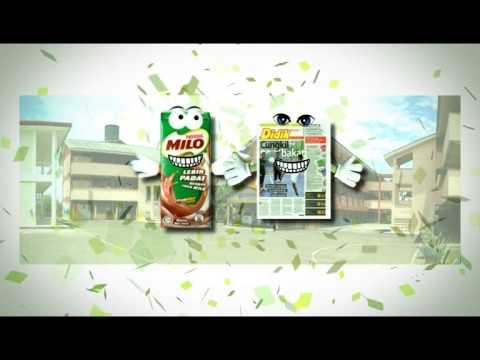 Milo Makes Newspaper Active, Mindshare Malaysia