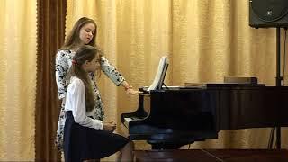 Открытый урок по общему фортепиано. Преподавателя Димитренко А. А.