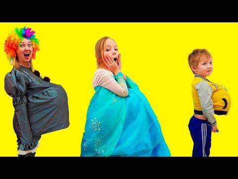 Алиса и мама примеры правильного поведения с Вредными сладостями