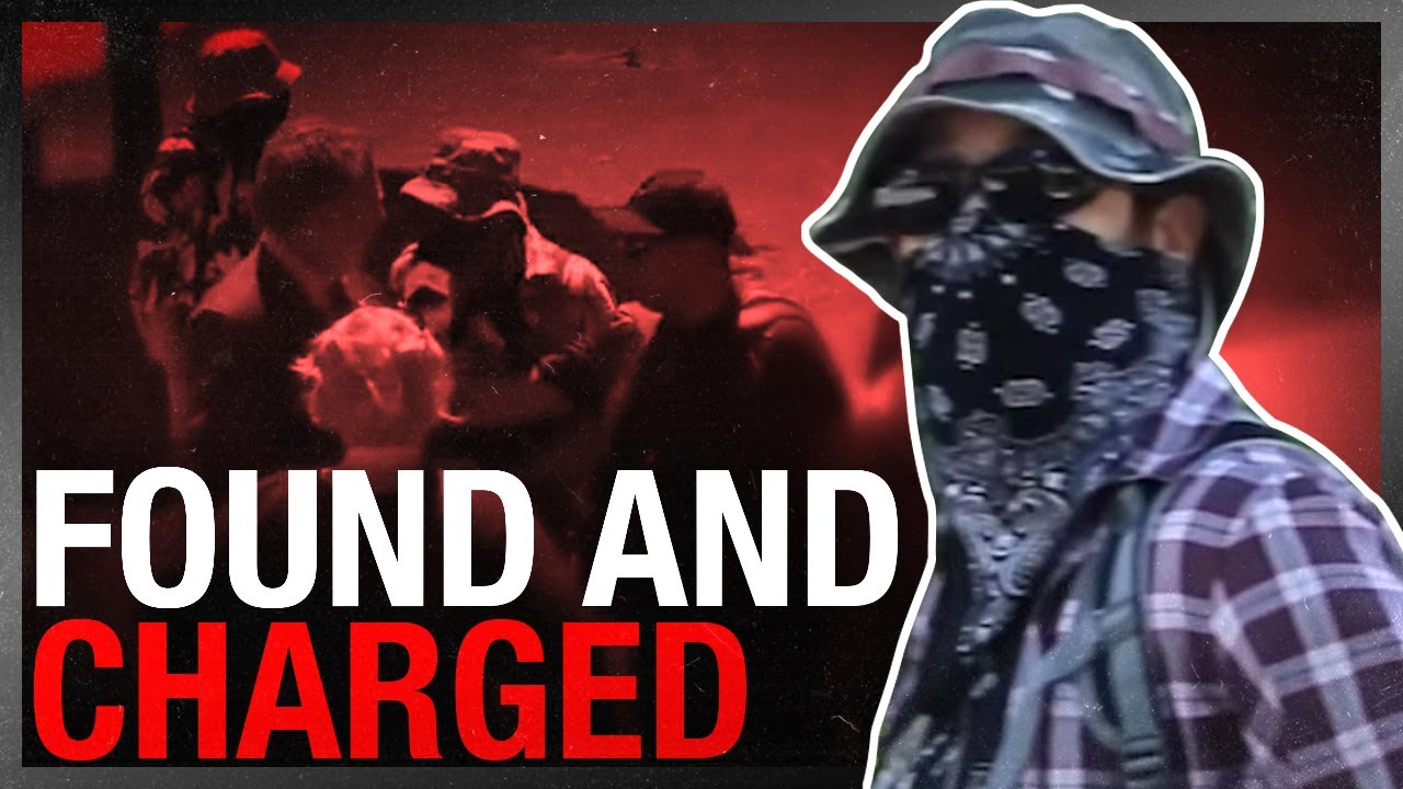 Antifa CHARGED by Kingston police for assault of David Menzies at statue protest!