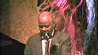 Mhenga John Henrik Clarke, Marimba Ani & Mhenga Amos N. Wilson P1 of 2