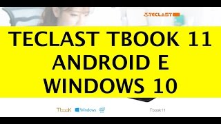 unboxing Teclast Tbook 11, Tablet Low Cost Windows 10 ed Android Lollipop