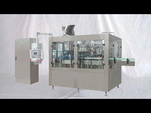 water bottling production line 8000BPH mineral drinks monoblock three in one máquina de llenado agua