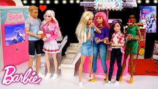 Barbie Doll Spies on Ken at The Mall - Dreamhouse Adventures Toys