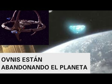 VIDEO DE OVNIS ABANDONANDO LA TIERRA  CAPTADO POR NASA