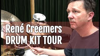 René Creemers presents his drum kit