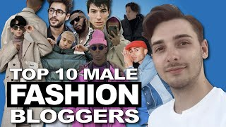 Top 10 Male Fashion Bloggers - most influential fashion bloggers