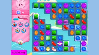 Candy Crush Saga Level 617 Waffles NO BOOSTERS