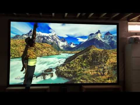 165 inch Projector screen