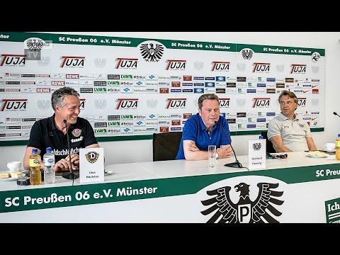 37. Spieltag | SCP - SGD | Pressekonferenz nach dem Spiel