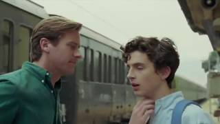 ELIO & OLIVER GOODBYE SCENE - CALL ME BY YOUR NAME
