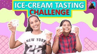 Ice Cream Challenge l Eating Challenge l Ayu And Anu Twin Sisters