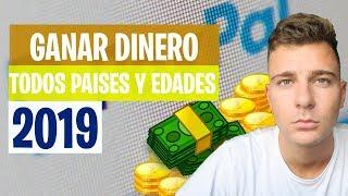 Cómo Ganar Dinero Real por Internet 2019   Mejores Métodos $100 Fácil