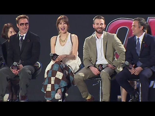 Avengers Age Of Ultron Korea Fan Event