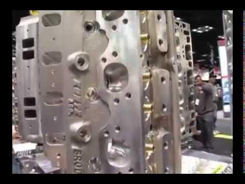 USA Performance Parts presents Brodix's SBF 15 Degree Head Hunter Cylinder  Heads