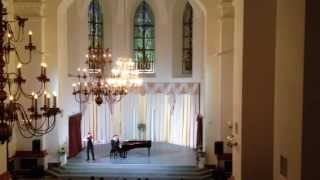 Mozart Sonata for Piano and Violin in C-dur KV 6 plays Alexander Kuznetsov & Slava Spiridonov