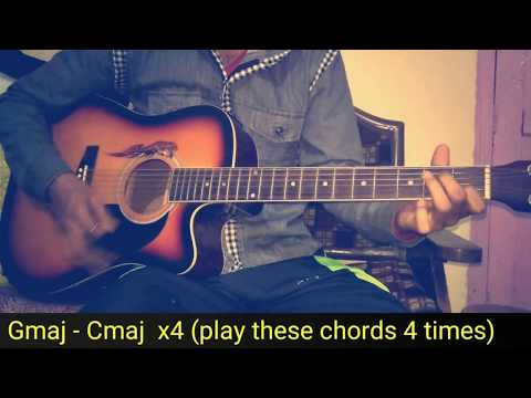 Kal Ho Na Ho Guitar Lesson/Chords With Strumming For Beginners