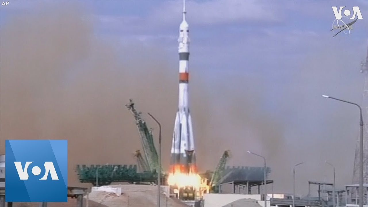US, Russian Crew Blasts Off to International Space Station - VOA News