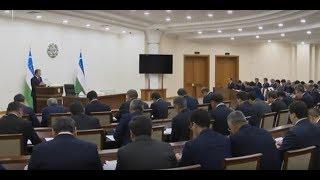 Президент Узбекистана Шавкат Мирзиёев 2 декабря 2019 года провел совещание