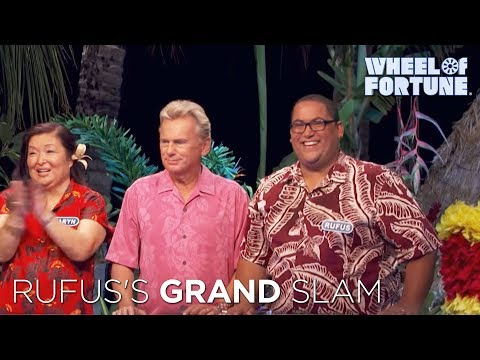 Wheel of Fortune: Rufus's Grand Slam Solve