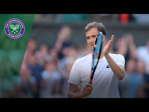 Daniil Medvedev upsets Stan Wawrinka in Wimbledon 2017 first round