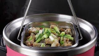 【1mintips】每個便當盒都是超好用內鍋!一個便當盒,從調味醃料加熱,不用換容器~電鍋料理必備! thumbnail