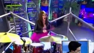 Download Maine Mendoza Drums to Nothing's gonna Stop Us Now