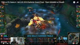 NA LCS Finals VOD Review: TSM vs C9 Game 4