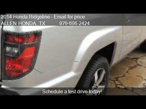 2014 honda ridgeline se 4x4 4dr crew cab pickup for sale in youtube. Black Bedroom Furniture Sets. Home Design Ideas