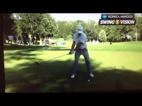 Adam Scott Slow motion driver with Butch Harmon Commentary