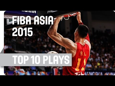 Top 10 Plays - 2015 FIBA Asia Championship