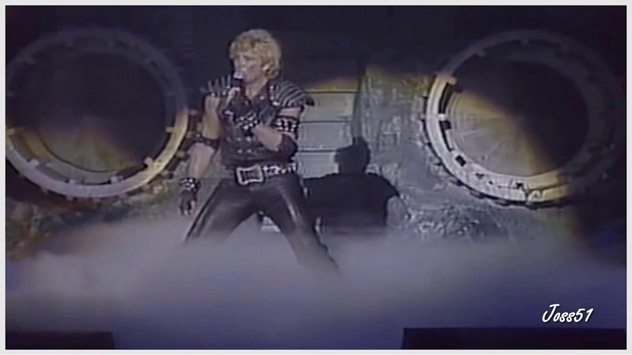 Poème Sur La 7ème Johnny Hallyday Palais Des Sports 1982 Hd