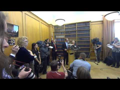 Andrew Little announced as Labour Leader - Press Conference