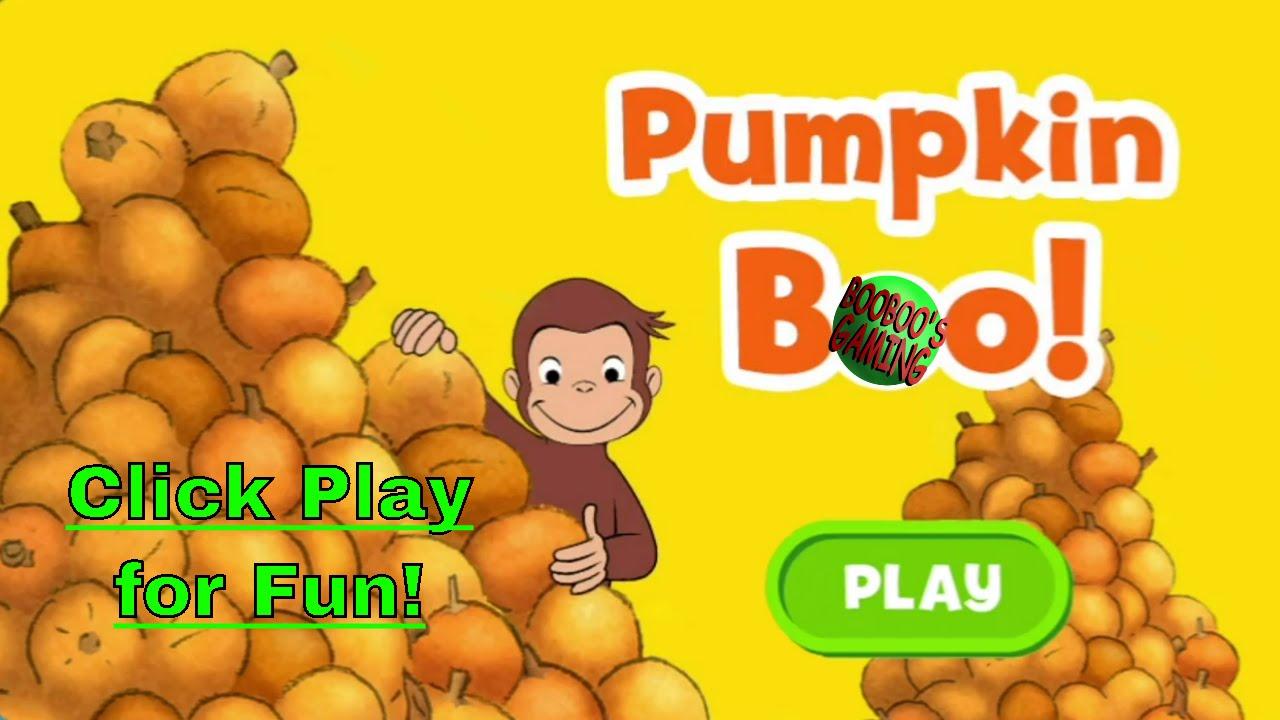 curious george pumpkin boo pbskids preschoollearning halloween educational videos for kids - Curious George Halloween Games