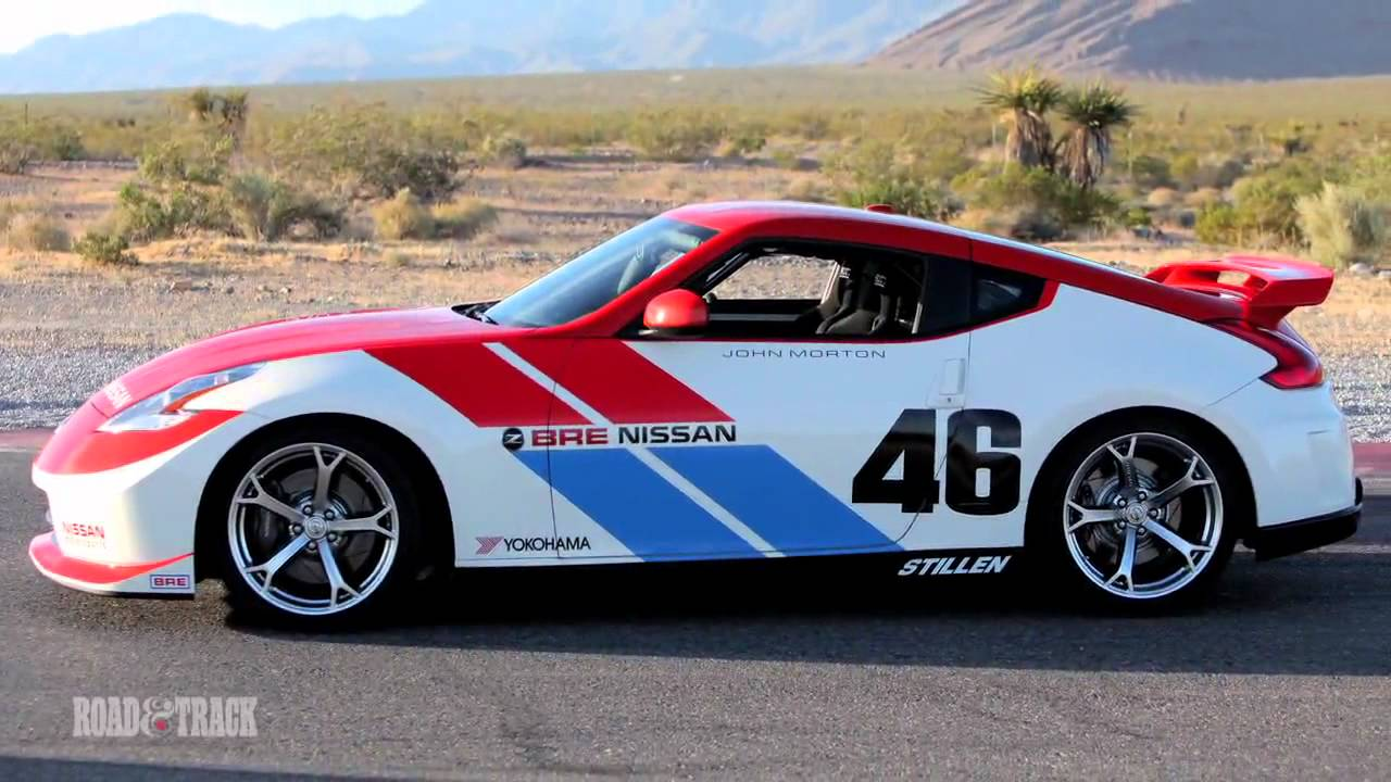 BRE Datsun 240Z & BRE Nissan 370Z Road & Track - YouTube