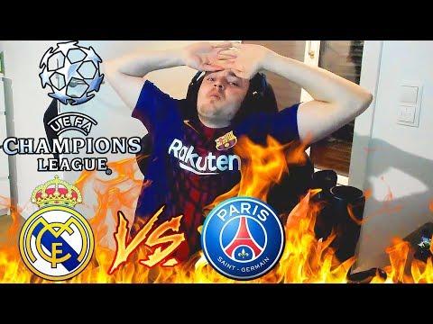 Real Madrid - Paris St. Germain | Champions League LIVE REAKTION | ViscaBarca
