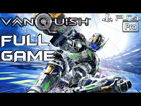 VANQUISH - Gameplay Walkthrough FULL GAME (PS4 PRO)