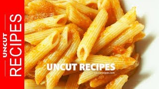 ☑️ Pasta with Tomato and Celery Sauce Recipe | Uncut Recipes