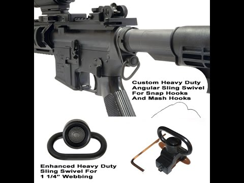 Sling Rifle Swivel reviews| Best rifle sling swivels