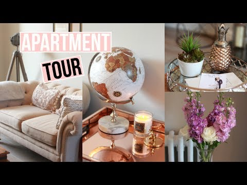 IRISH APARTMENT TOUR | Kitchen & Living Room