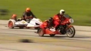 Sidecar (motociclete cu ataş) - 1.10.1995, startul cursei Tg.Mureş